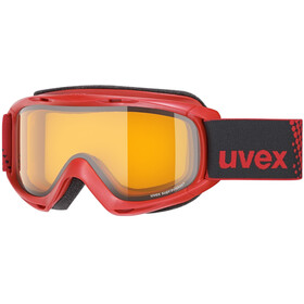 UVEX slider Enfant, red/lasergold lite